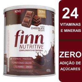 Complemento Nutricional Finn Nutritive Sabor Chocolate ao Leite com 400g
