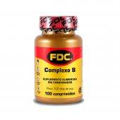 FDC COMPLEXO B 100 COMPRIMIDOS