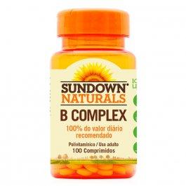 Complexo B Sundown com 100 comprimidos