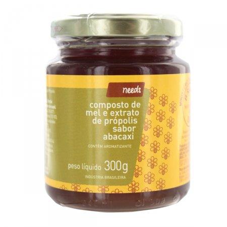 NEEDS COMPOSTO DE MEL PROPOLIS E ABACAXI 300G