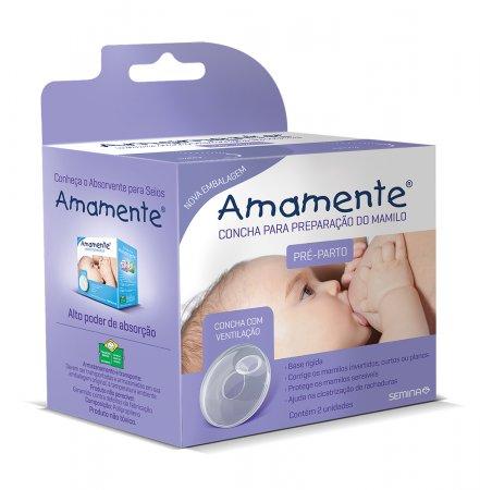 AMAMENTE CONCHA PREPARACAO DO MAMILO