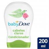DOVE BABY CONDICIONADOR CABELO CLARO HIDRATACAO ENRIQUECIDA 200ML