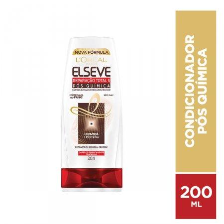 ELSEVE CONDICIONADOR REPARACAO TOTAL 5 POS QUIMICA 200 ML