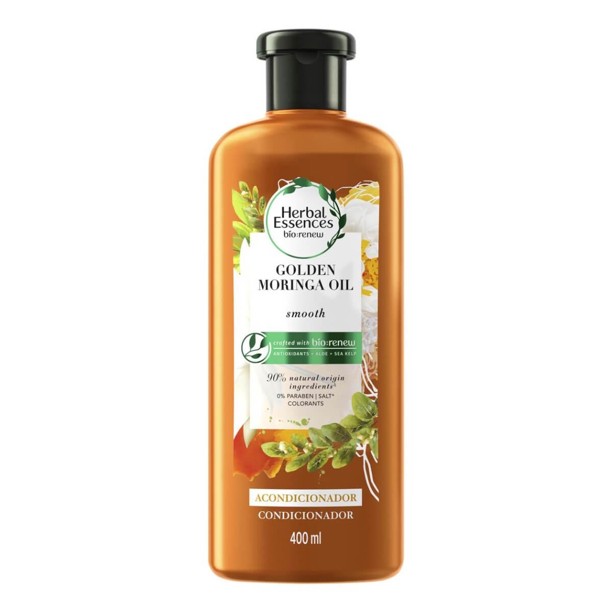 Condicionador Herbal Essences Bio:Renew Óleo de Moringa Dourada 400ml