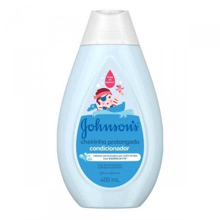 Condicionador Johnson's Baby Cheirinho Prolongado 400ml | Drogaraia.com Foto 1