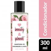 LOVE, BEAUTY AND PLANET CONDICIONADOR CURLS INTENSIFY MANTEIGA DE MURUMURU & ROSA FRASCO 300ML