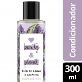 LOVE, BEAUTY AND PLANET CONDICIONADOR SMOOTH AND SERENE OLEO DE ARGAN & LAVANDA FRASCO 300ML