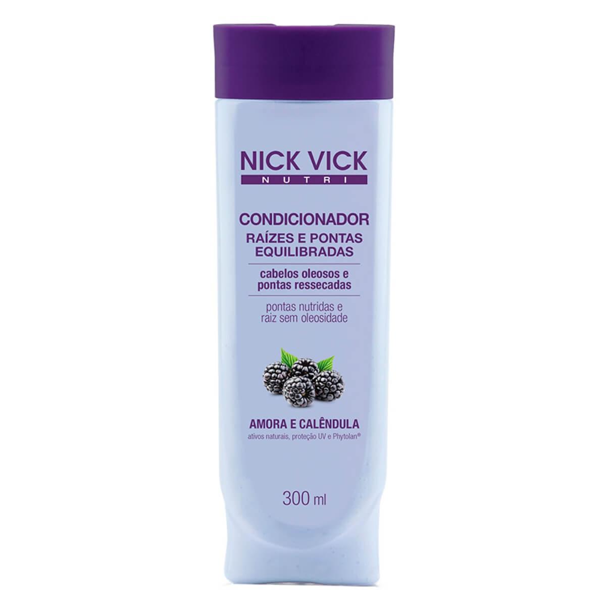 Condicionador Nick e Vick Nutri Raiz e Ponta 300ml