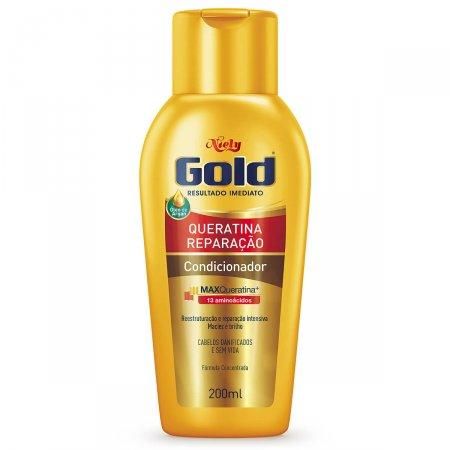 Condicionador Niely Gold Queratina Reparação