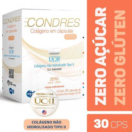 CONDRES COLAGENO 40MG 30 CAPSULAS