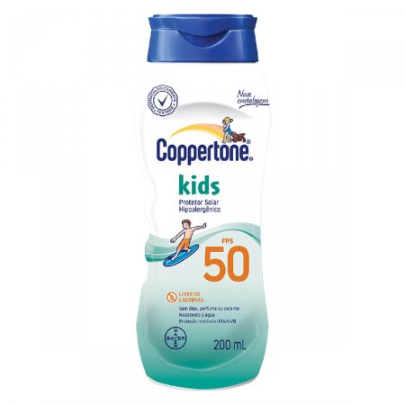 COPPERTONE LOCAO KIDS FPS50 200ML