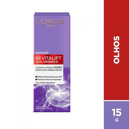 LOREAL REVITALIFT HIALURONICO OLHOS 15ML