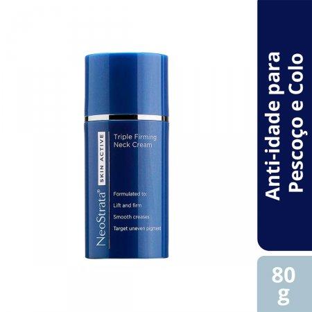 Creme Antissinais para Pescoço e Colo Neostrata Skin Active Triple Firming Neck Cream