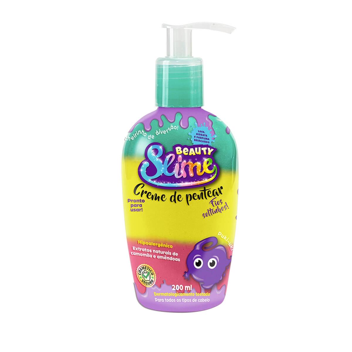 Creme de Pentear Beauty Slime Colors 200ml