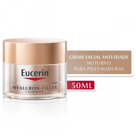 Creme Facial Anti-Idade Eucerin Hyaluron-Filler + Elasticity Noite com 50g