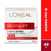 Creme Facial Anti-Idade Revitalift Diurno FPS18