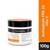 Creme Facial Neutrogena Face Care Intensive Antissinais FPS 22 com 100g