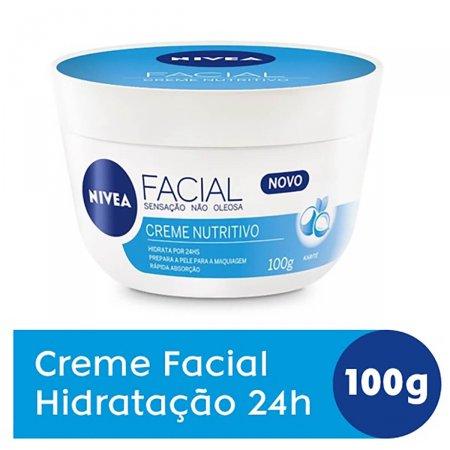 Creme Facial Nivea Nutritivo 100g | Drogasil.com Foto 2