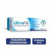 Creme Fixador de Dentadura UltraFix Sem Sabor