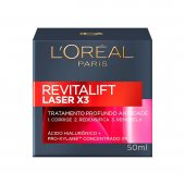 Creme L'oréal Revitalift Laser X3 Antirrugas Facial Diurno com 50ml