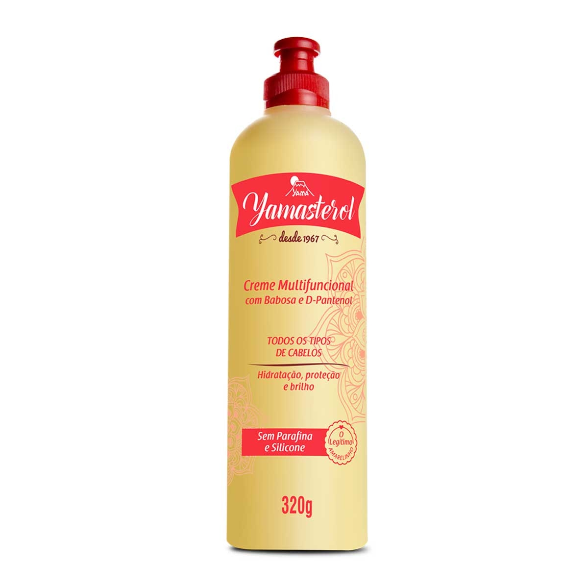 Creme Multifuncional Yamasterol Barbosa e D-Pantenol 320g 320g
