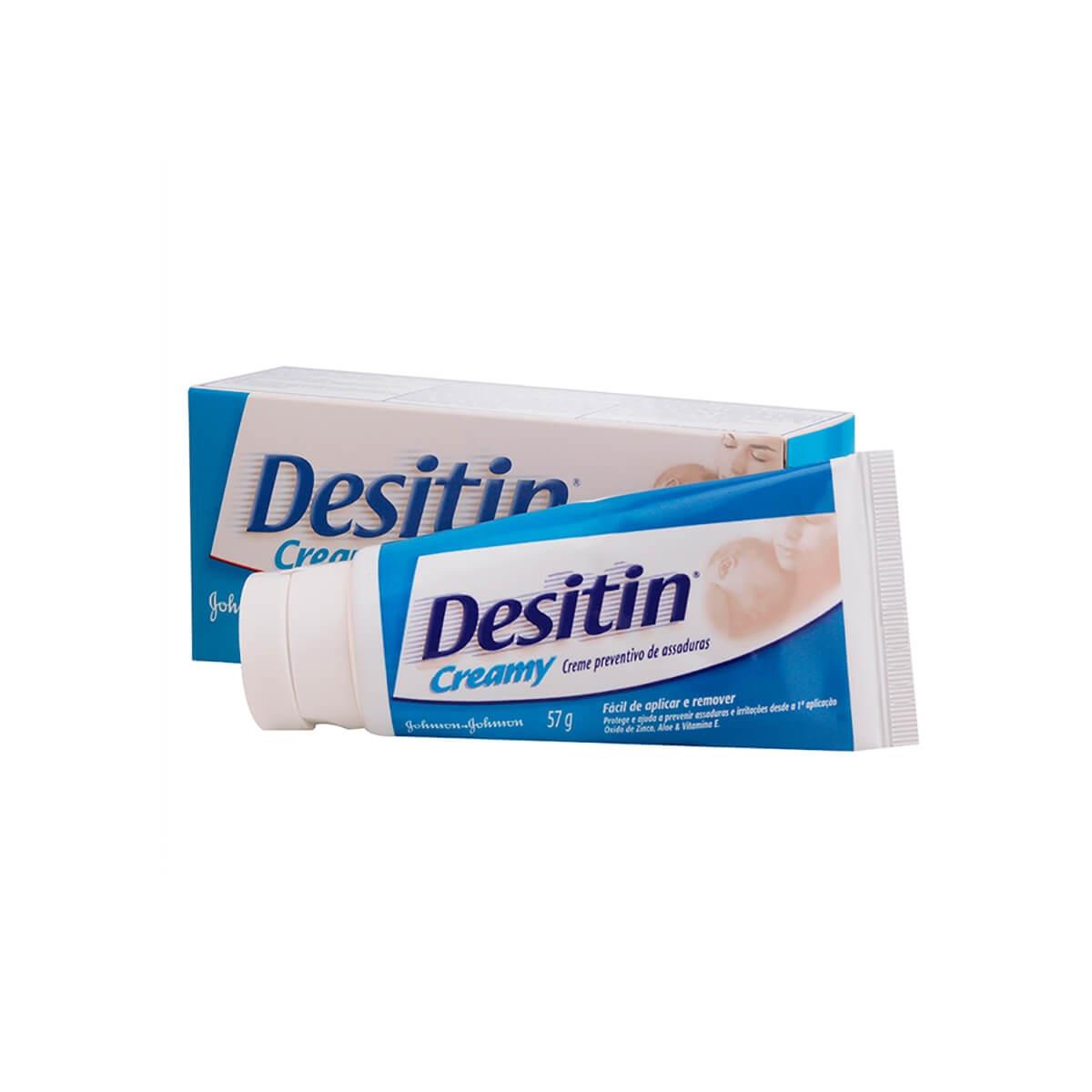 Desitin Creamy Creme Preventivo de Assaduras com 57g 57g