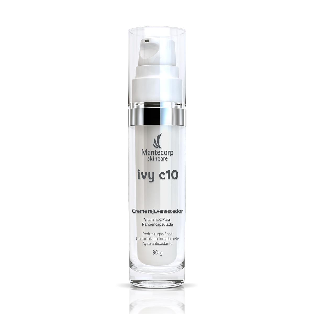 Creme Rejuvenescedor Facial Mantecorp Ivy C10 com 30g 30g