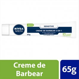 Creme de Barbear 2 em 1 Nivea Men Sensitive