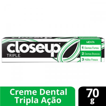 CLOSE UP CREME DENTAL TRIPLE MENTA 70G