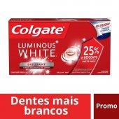 COLGATE CREME DENTAL LUMINOUS WHITE LEVE 2 DE 70G COM 25% DE DESCONTO