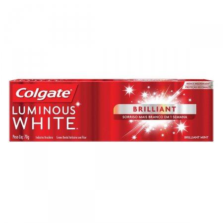 Creme Dental Colgate Luminous White Brilliant