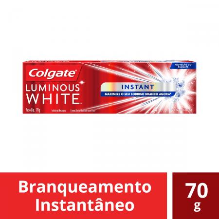 Creme Dental Colgate Luminous White Instant
