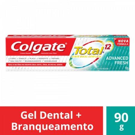 Creme Dental Colgate Total 12 Advanced Fresh