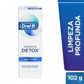 Creme Dental Oral-B Gengiva Detox Deep Clean