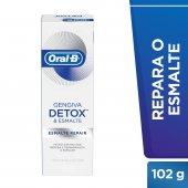 Creme Dental Oral-B Gengiva Detox & Esmalte