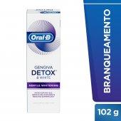Creme Dental Oral-B Gengiva Detox Gentle Whitening