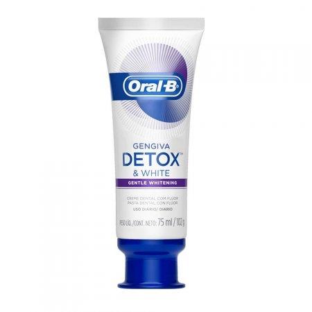 Creme Dental Oral-B Gengiva Detox Gentle Whitening 102g | Drogasil.com Foto 3