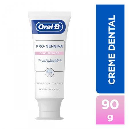Creme Dental Oral-B Pro Gengiva Sensibilidade