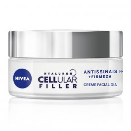 Creme Facial Antissinais Nivea Hyaluron Cellular Filler Dia FPS30 com 50ml