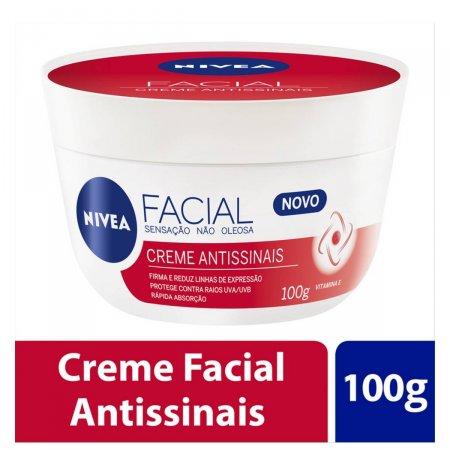 Creme Facial Nivea Antissinais