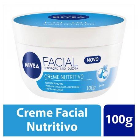 Creme Facial Nivea Nutritivo