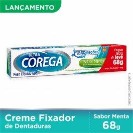 Creme Fixador de Dentadura Ultra Corega Sabor Menta