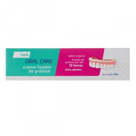 Creme Fixador de Prótese Needs Oral Care