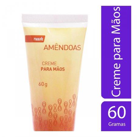 Creme para as Mãos Needs Amêndoas 60g | Drogasil.com Foto 1