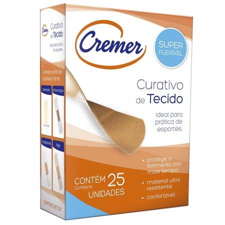 CREMER CURATIVO DE TECIDO COM 25 UNIDADES