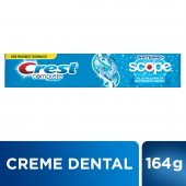 CREST CREME DENTAL COMPLETE + SCOPE COOL PEPPERMINT 175G