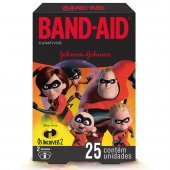 BAND-AID BAND-AID OS INCRIVEIS II 25 UNIDADES