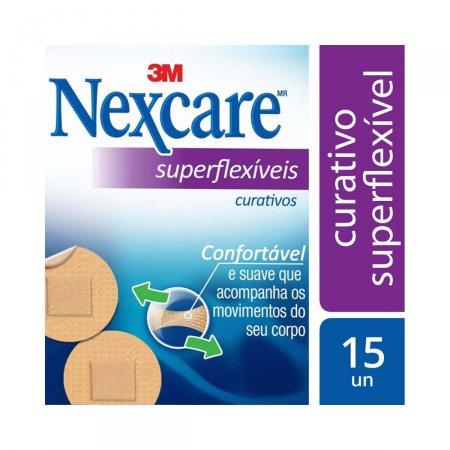 NEXCARE CURATIVO SUPERFLEXIVEL REDONDO C/15 UN