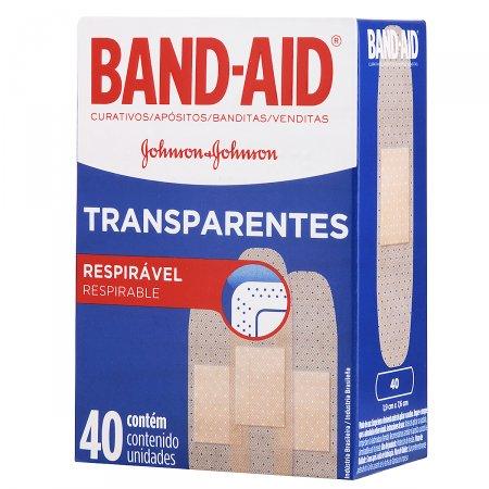 Curativos Transparentes Band-Aid