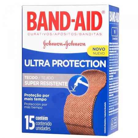 BAND-AID ULTRA PROTECTION 15 UNIDADES